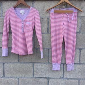 Victoria's Secret S thermal pajamas